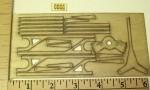 F3P Laser Control Horns Rod & Shrink Set - Product Image