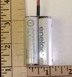 FDK/Sanyo Twicell 2000mah NiMH AA 4-Cell 4.8V Square Pack - Product Image