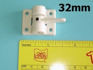 Radical RC Nose Gear Block with 32mm Steering Arm for 4mm Gear - Product Image