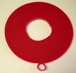 Velcro Brand One Wrap Tape 3/8 Inch Red YARD - Product Image