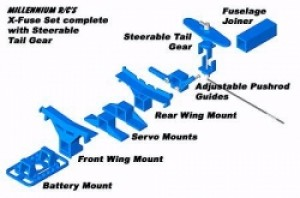 Millennium RC X-Fuse Set Without Tail Gear - Product Image