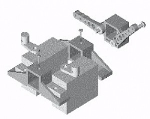 Millennium RC Servo Mount Set - Product Image