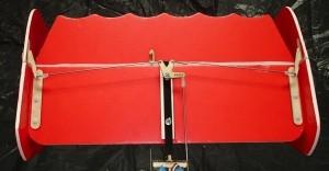 Twin Vertical Rudder Bellcrank & Horn Set - Product Image