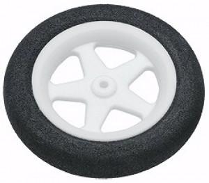 "Du-Bro Micro Sport Wheels 37mm (1.45"") Pair - Product Image"