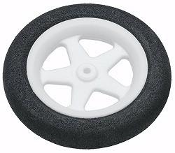 "Du-Bro Micro Sport Wheels 47mm (1.86"") Pair - Product Image"