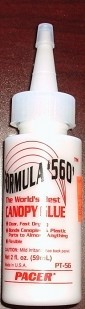 Pacer Formula '560' Canopy Glue, 2oz. - Product Image