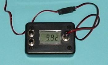 RC Digital Voltmeter (load tester) - Product Image