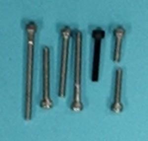 "Socket Head Cap Screw Alloy, 4-40 x 3/8""  Qty 6 - Product Image"