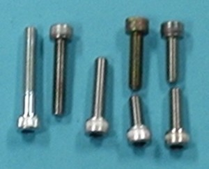 "Socket Head Cap Screw Alloy, 10-32 x 3/8""  Qty 6 - Product Image"