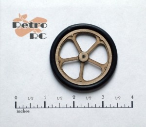 Retro Wheel Kit  2 1/4 OD 5 Spoke - Product Image