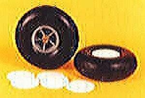 "Flair Vintage Wheels 120mm/4.75"" Diameter Scale, Pair - Product Image"