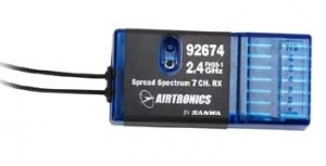Airtronics Receiver FHSS-1 7ch 2.4GHz RX 92674 DISCONTINUED - Product Image