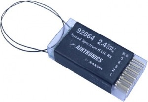 Airtronics Receiver FHSS-1 6ch 2.4GHz RX 92664 - Product Image