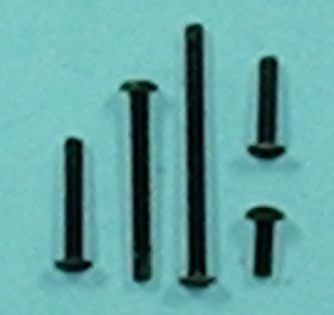 "Button Head Cap Screw, 2-56 x 1/4"" Qty 6 - Product Image"