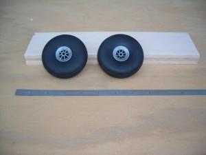 "Airwheels Nylon Hub 3"" Pair Vintage Style - Product Image"