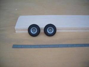 "Airwheels Nylon Hub 1.5"" Pair Vintage Style - Product Image"