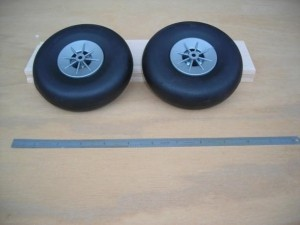 "Airwheels Nylon Hub 5"" Pair Vintage Style - Product Image"