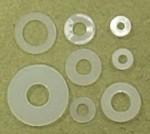 Flat Nylon Washer 4mm Qty 6 - Product Image