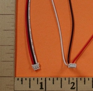 Futaba Micro Compatible Male Pigtail - Product Image