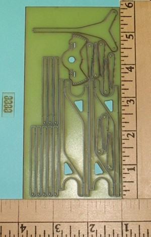F3P Laser Control Horns Rod & Shrink Set .020 Fiberglass - Product Image