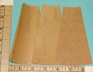 Fourmost Products Precut Sandpaper Blanks - Product Image