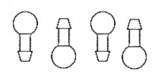 Fourmost Large Plug Fittings - Product Image