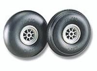 "Du-Bro Treaded Lightweight Wheels 3-1/4"" - Product Image"