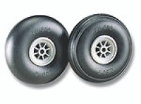 "Du-Bro Low Bounce Treaded Wheels 3.25"" - Product Image"