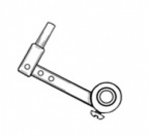 "Nose Gear 1/8"" Steering Arm, 1 1/4"" Long by Sonic Tronics - Product Image"