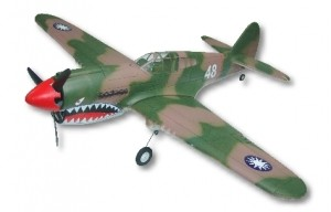 GWS P-40 Warhawk Painted with Brushless Motor! - Product Image