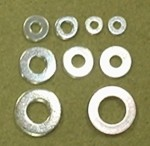 #12 Flat Plated Steel Washer - Product Image