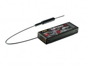 Hitec 2.4GHz Optima 7 Receiver (Factory Box Packaging) 3 Each - Product Image