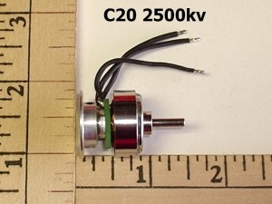 RRC CD Rom Brushless Outrunner Motor 2500kv - Product Image