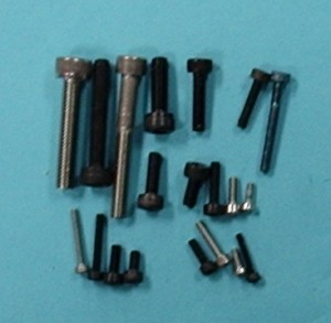 Socket Head Cap Screw, M2.6 x 12mm long Qty 6 - Product Image