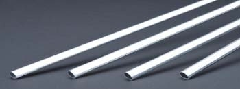 K & S Aluminum Streamline Tubing 5/8 x 36 Inch - Product Image