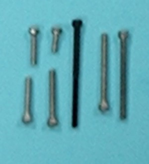Socket Head Cap Screw Alloy, 2-56 x 1 1/2 Inch  Qty 4 - Product Image