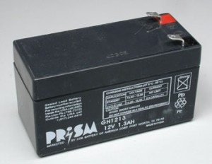 12V 1.3A Gel Cell Battery - Product Image