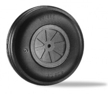 Dubro 4.5 Inch Treaded Big Wheel - Product Image