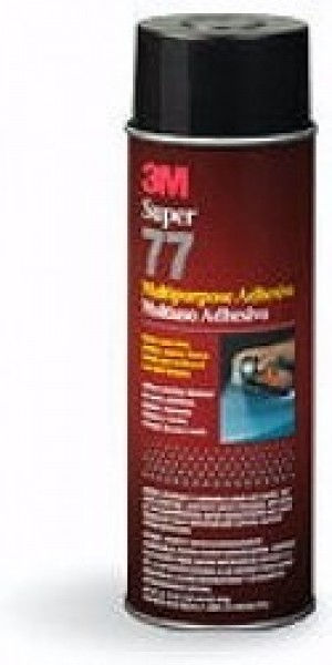 3M Super 77 Spray Contact Adhesive 4.4 Ounce Small SHIPS PARCEL POST - Product Image