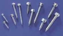 Du-Bro Socket Head Sheet Metal Screws #4 x 1 Inch 8-Pack  - Product Image