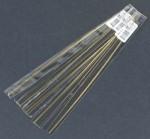 K & S Brass Rod 3/64 x 12 InchBrass 4 Rods each - Product Image