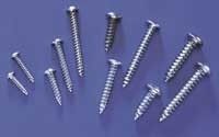 "Button Head Sheet Metal Screw #8 x 1"" - Product Image"