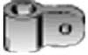 Du-Bro Adjustable Aileron Control Horn Brackets 6-32 - Product Image