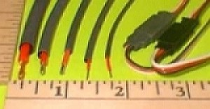 """3/32""""/2.4mm Flexible Shrink Tubing for Wires, 3-Foot Pc RED - Product Image"""