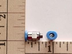 evoJet Orbit R/C Pneumatic 3mm Festo tube fitting into 3mm valve - Product Image