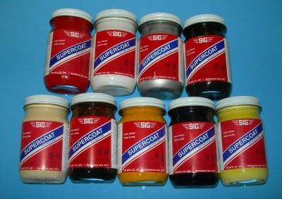 Sig Supercoat Butyrate Dope Orange 4oz - Product Image