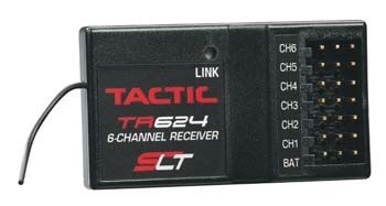 Tactic TR624 6 Channel Receiver - Product Image
