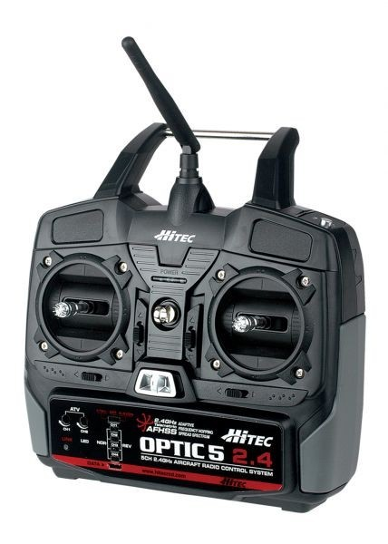 Optic 5 2.4ghz Radio System - Product Image