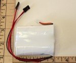 A123 Life Nano Phosphate 2S 2500mah Receiver Pack - Product Image