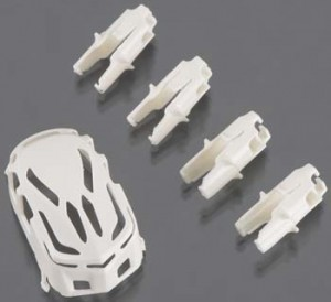 PROTO X WHITE Canopy and Motor Mounts - Product Image